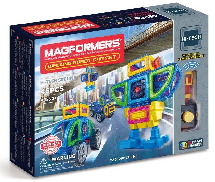 MAGFORMERS RC Bugy , Robot 45 dílků