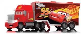 DICKIE TOYS: RC Turbo Mack Truck