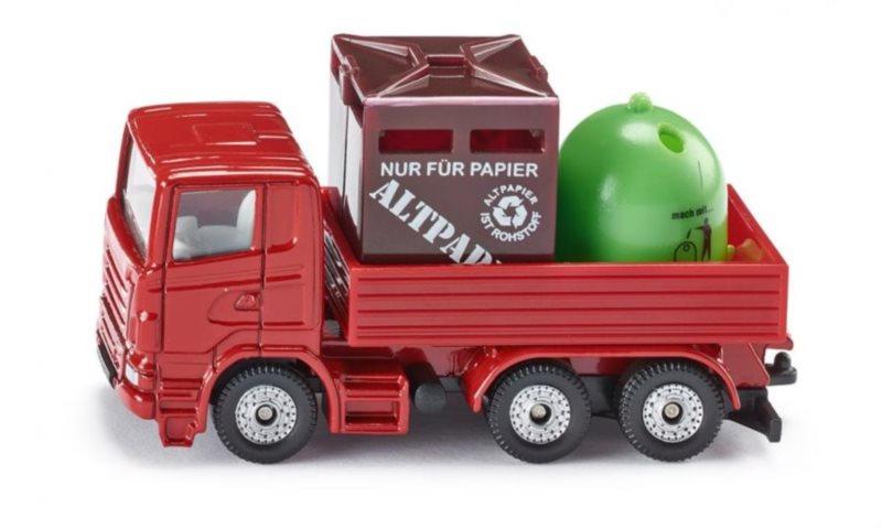 Vůz na odvoz recyklačního odpadu