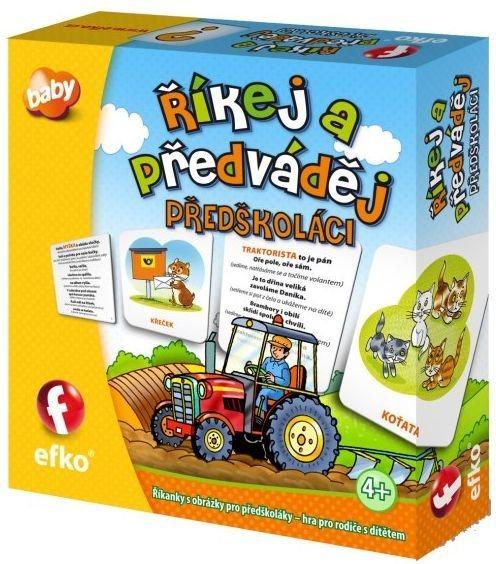Dětská hra: Říkej a předváděj: Předškoláci, EFKO