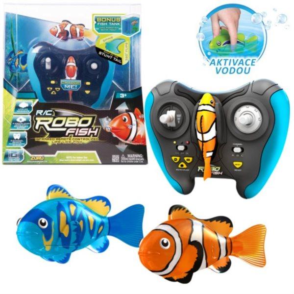 ZURU Robo ryba na dálkové ovládání (mix)