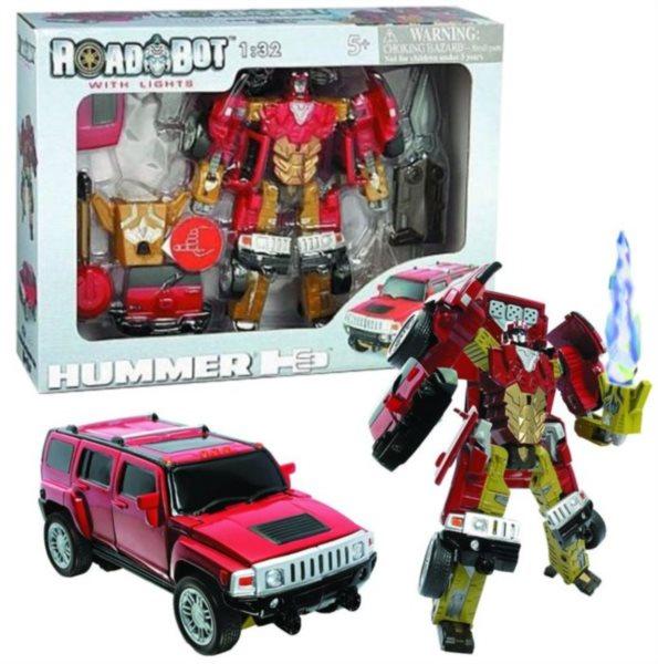 HAPPY WELL Robot se svítícím mečem: Hummer H3