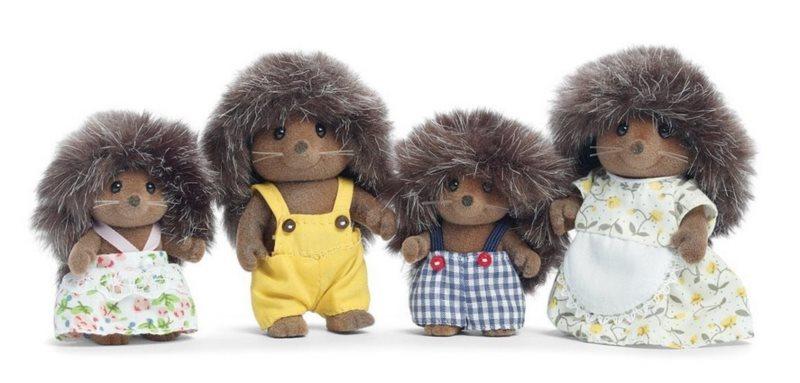 Sylvanian Families 4018 Rodina ježků
