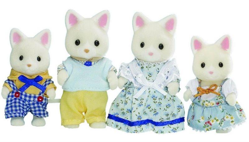 Sylvanian Families 3143 Rodina kočiček