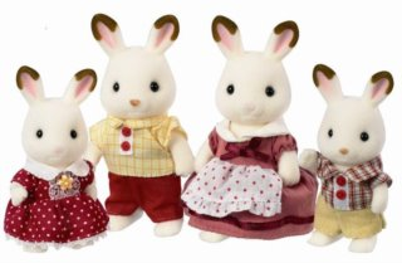 Sylvanian Families 4150 Rodina králíčků