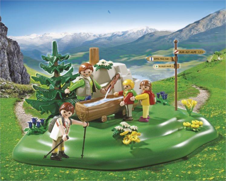 Playmobil 5424 Rodinná procházka k pramenu