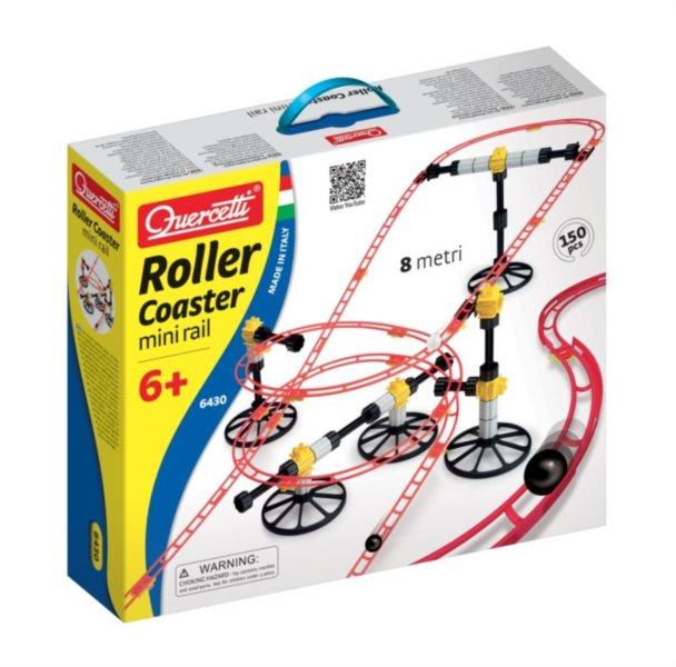 Stavebnice QUERCETTI Roller Coaster Mini Rail