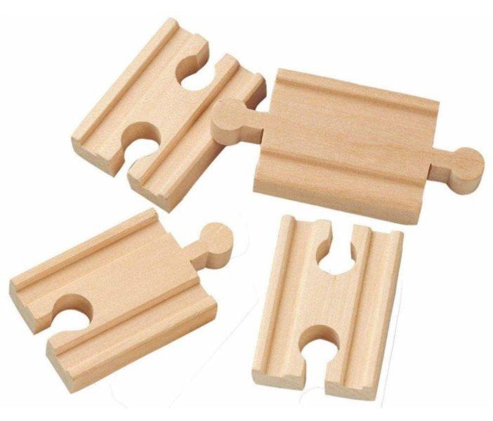 BRIO 33333 Rovné koleje - 5,5 cm (4 ks)