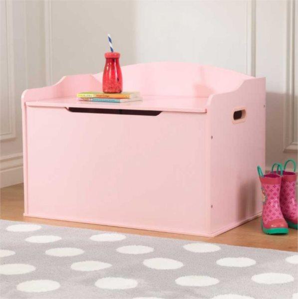 KIDKRAFT Dřevěný box na hračky Austin - růžový