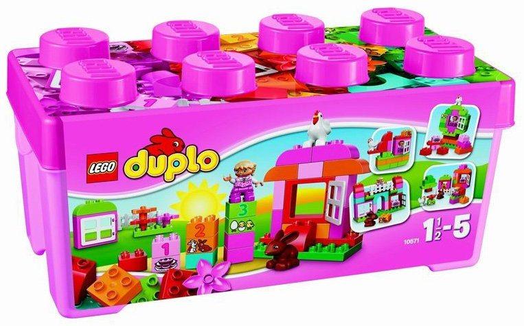 Stavebnice LEGO® DUPLO®10571 Růžový box plný zábavy