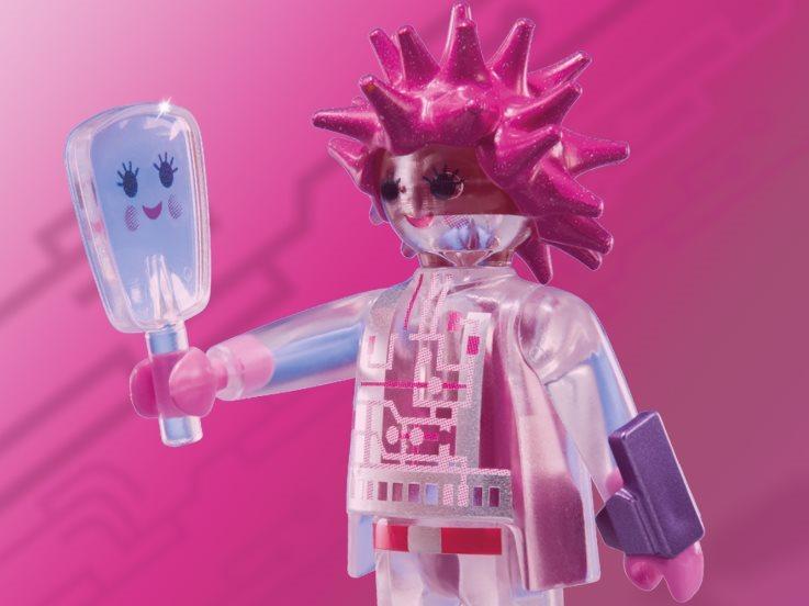 Playmobil 6841 Figurky pro holky - Růžový robot (série 10)