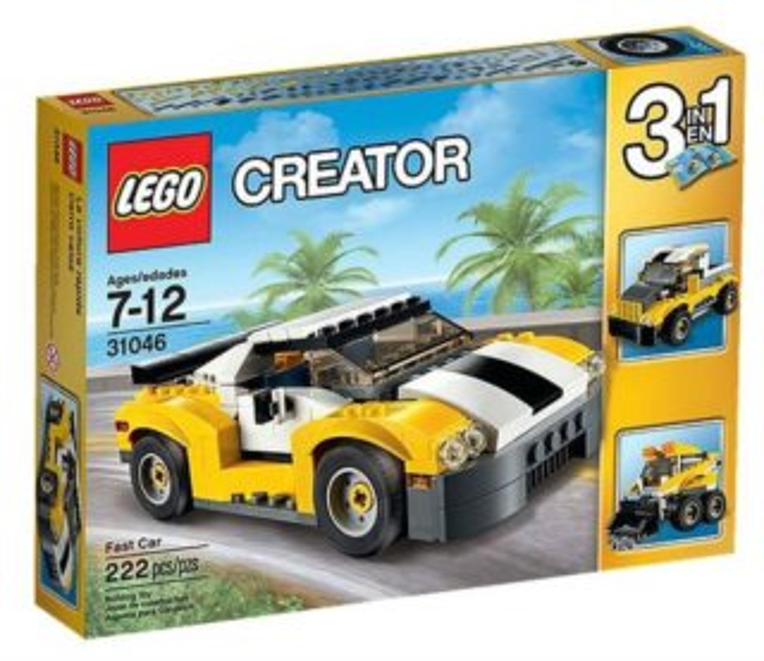 Stavebnice LEGO® Creator 31046 Rychlé auto