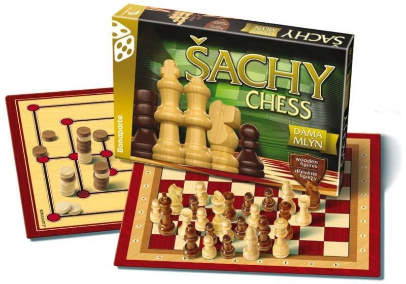 Společenská hra Šachy, Dáma a Mlýn, BONAPARTE