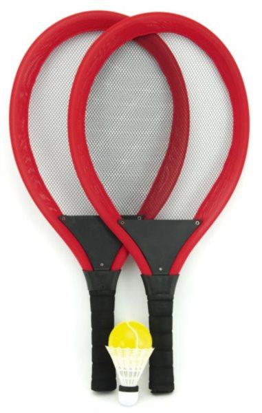 Sada 2 pálky + míčky - plážový tenis