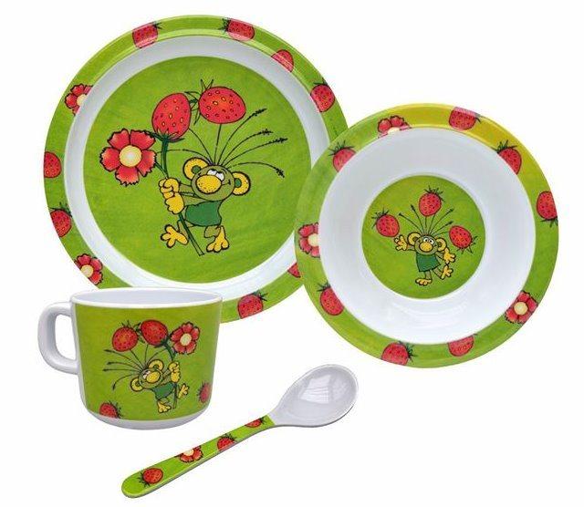 Dětská sada nádobí: Rákosníček