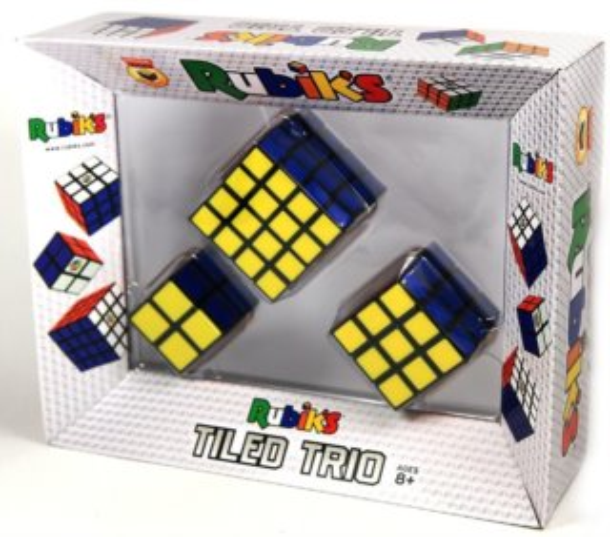 Sada Rubikových kostek (2x2, 3x3, 4x4)