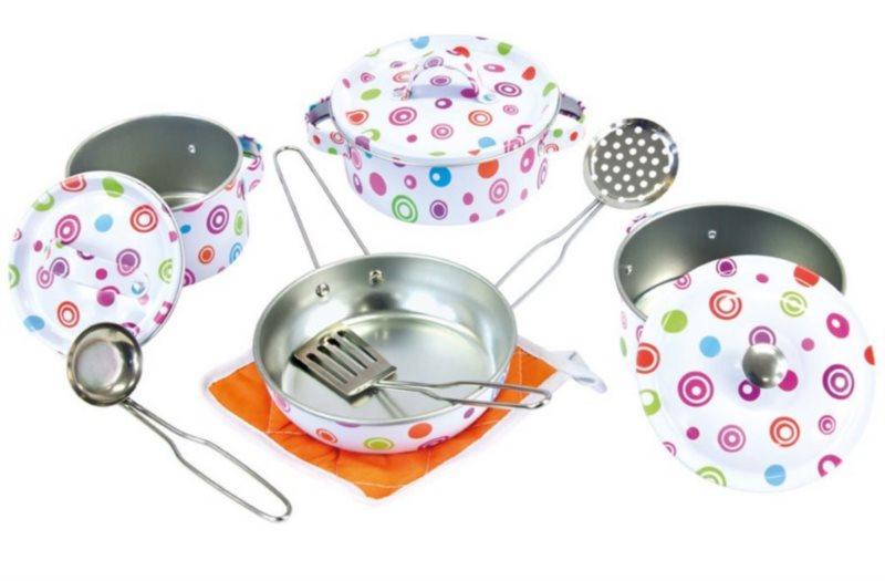 BINO 83390 Sada smaltovaného nádobí