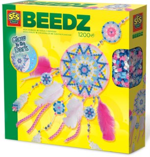 SES Sada zažehlovacích korálků - Svítící lapač snů
