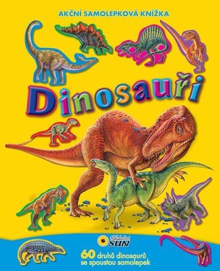 Samolepková knížka: Dinosauři, Nakladatelství SUN
