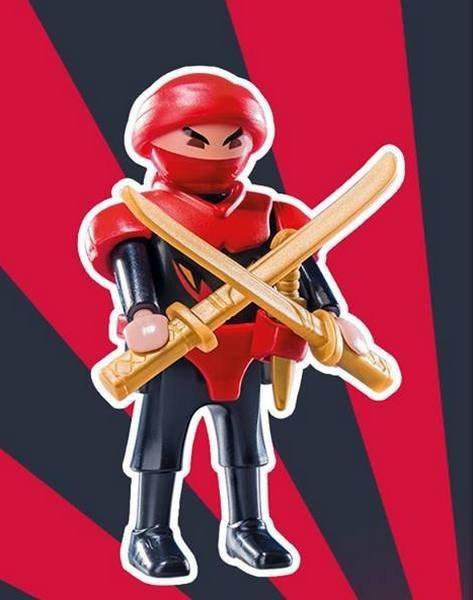 Playmobil 9241 Figurky pro kluky - Samurajský válečník (série 12)