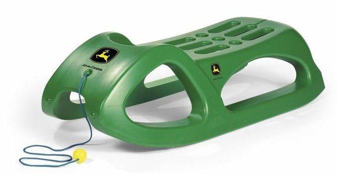 Sáně Rolly Toys - John Deere zelené