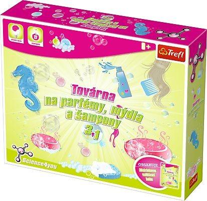 TREFL Science4you: Továrna na parfémy, mýdla a šampony 3v1