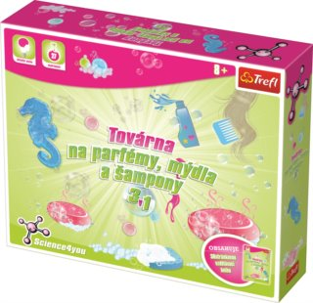 TREFL poškozený obal: Science4you: Továrna na parfémy, mýdla a šampony 3v1 XL