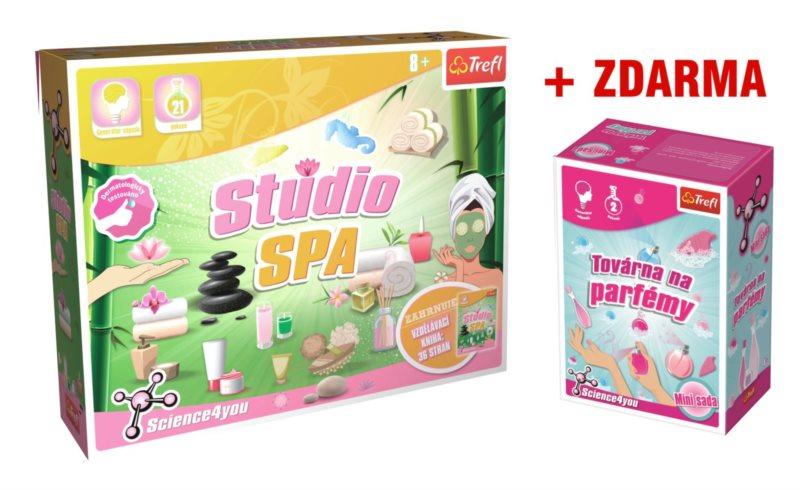 TREFL Science4you: Výroba kosmetiky + ZDARMA Továrna na parfémy