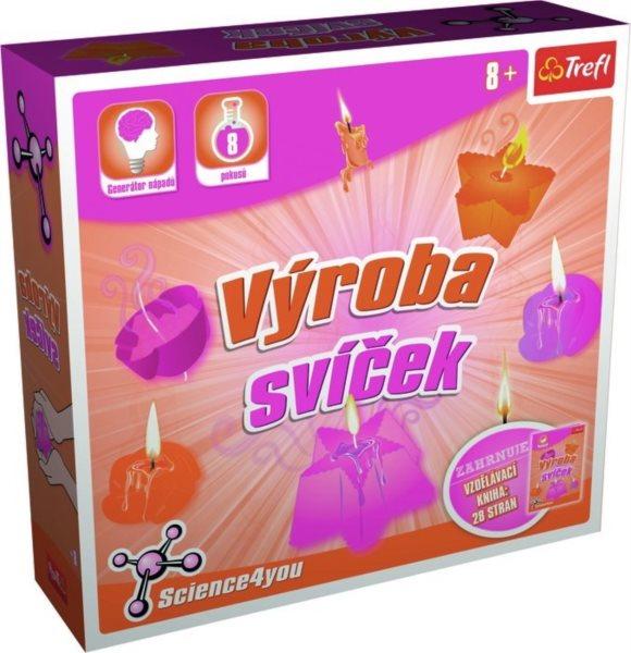 TREFL Science4you: Výroba svíček