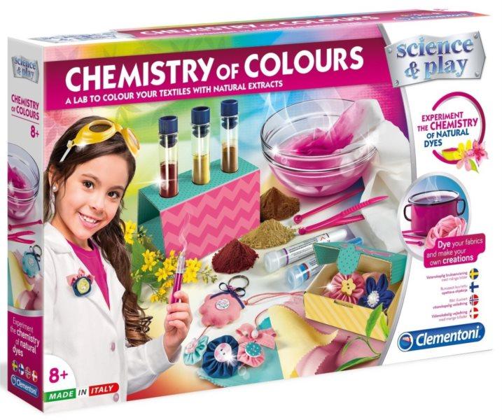 CLEMENTONI Science&Play: Barevná chemická laboratoř