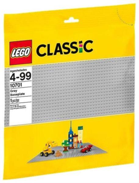 Stavebnice LEGO® 10701 Šedá podložka na stavění