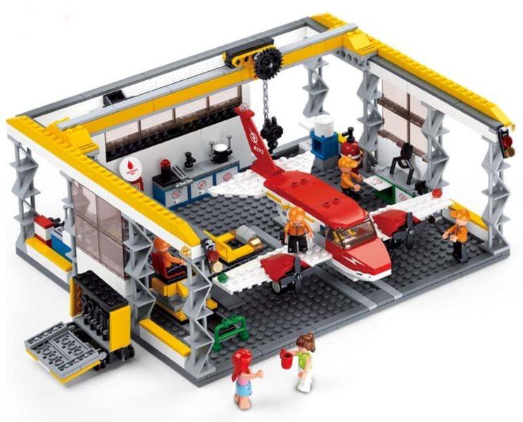 Servisní letecký hangár