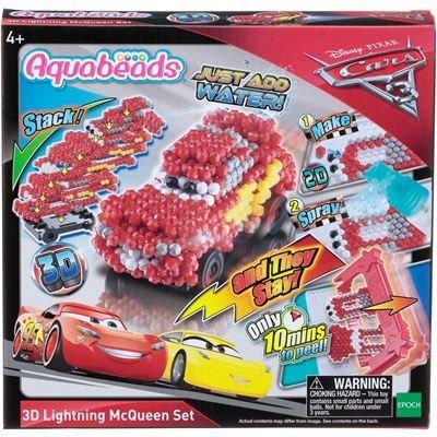 AQUABEADS Set 3D Blesk McQueen