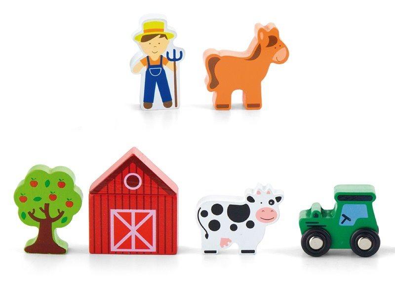 STUDO WOOD Set příslušenství: Farma