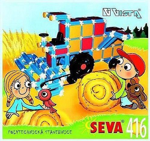 Polytechnická stavebnice SEVA 416 dílků
