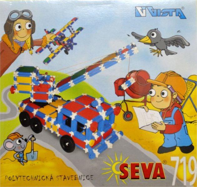 Polytechnická stavebnice SEVA 719 dílků