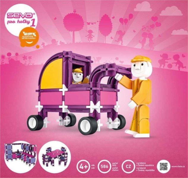 Polytechnická stavebnice Pro holky 1 - 586 dílků
