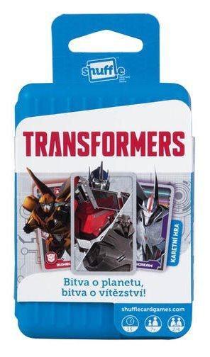 HASBRO Shuffle karty Transformers