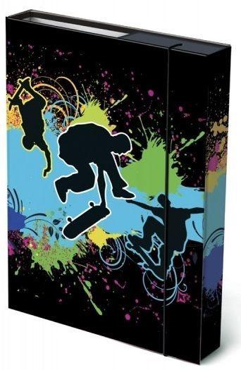 Box na sešity Skate A4