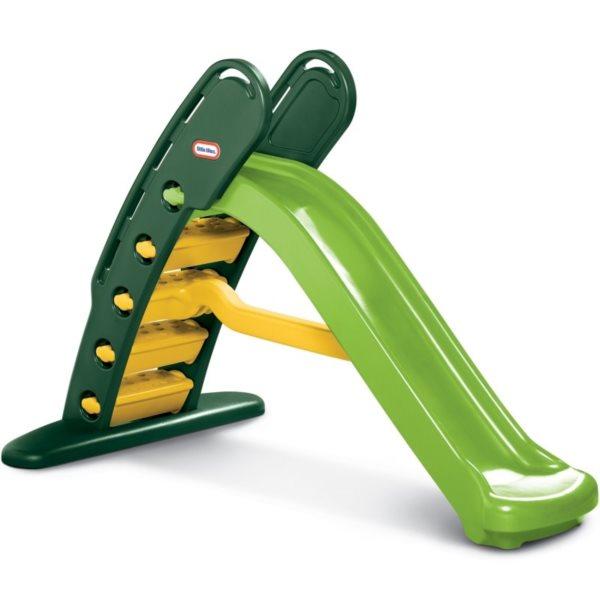 LITTLE TIKES Skluzavka 180cm zeleno-žlutá