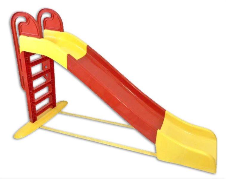 DOLONI Skluzavka 243 cm červeno-žlutá
