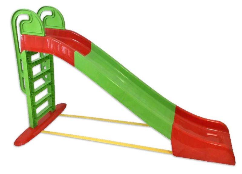 DOLONI Skluzavka 243 cm zeleno-červená