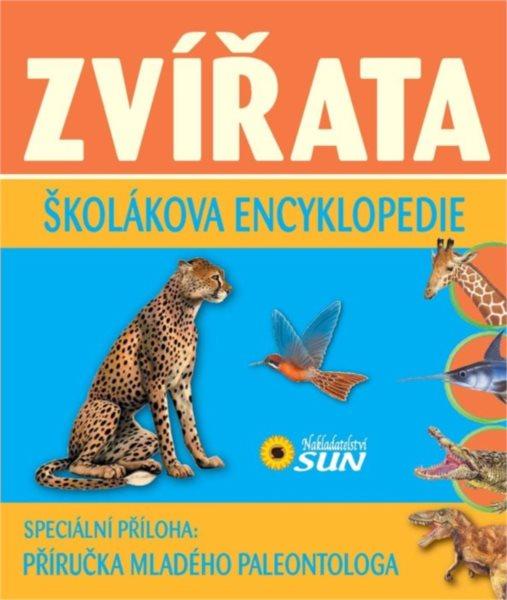 Kniha: Školákova encyklopedie: Zvířata, Nakladatelství SUN