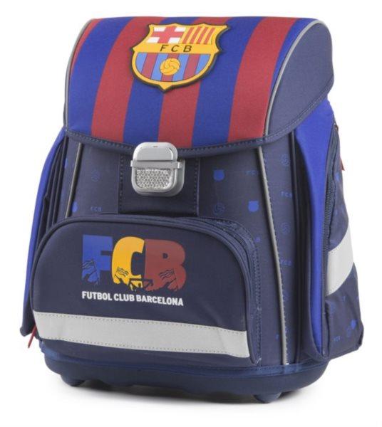 OXYBAG Školní aktovka Premium FC Barcelona