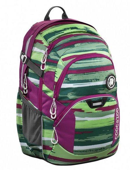 COOCAZOO Školní batoh JobJobber zelený