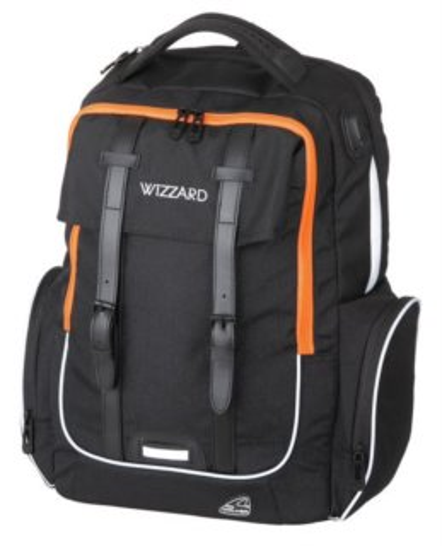 WALKER Školní batoh ACADEMY WIZZARD Black Melange c472cfb27f