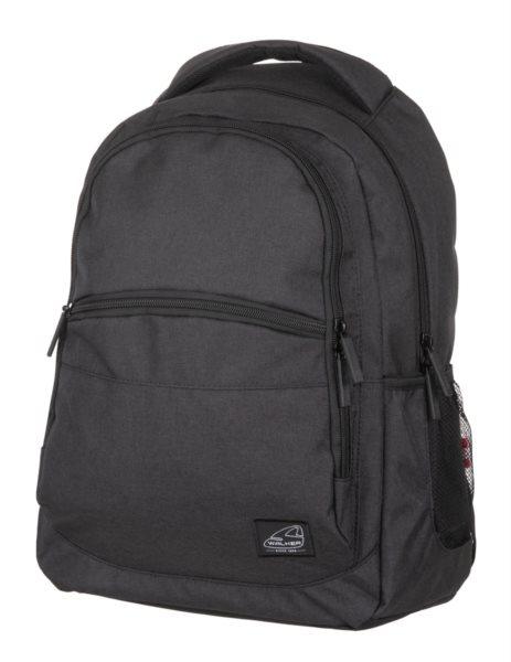 WALKER Školní batoh CLASSIC Black Melange