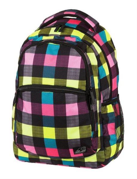 WALKER Školní batoh CLASSIC Neon