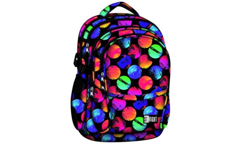 ST.RIGHT Školní batoh Colourful Dots