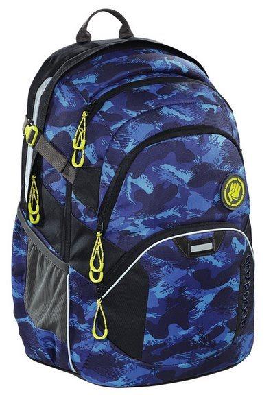 COOCAZOO Školní batoh JobJobber modrý